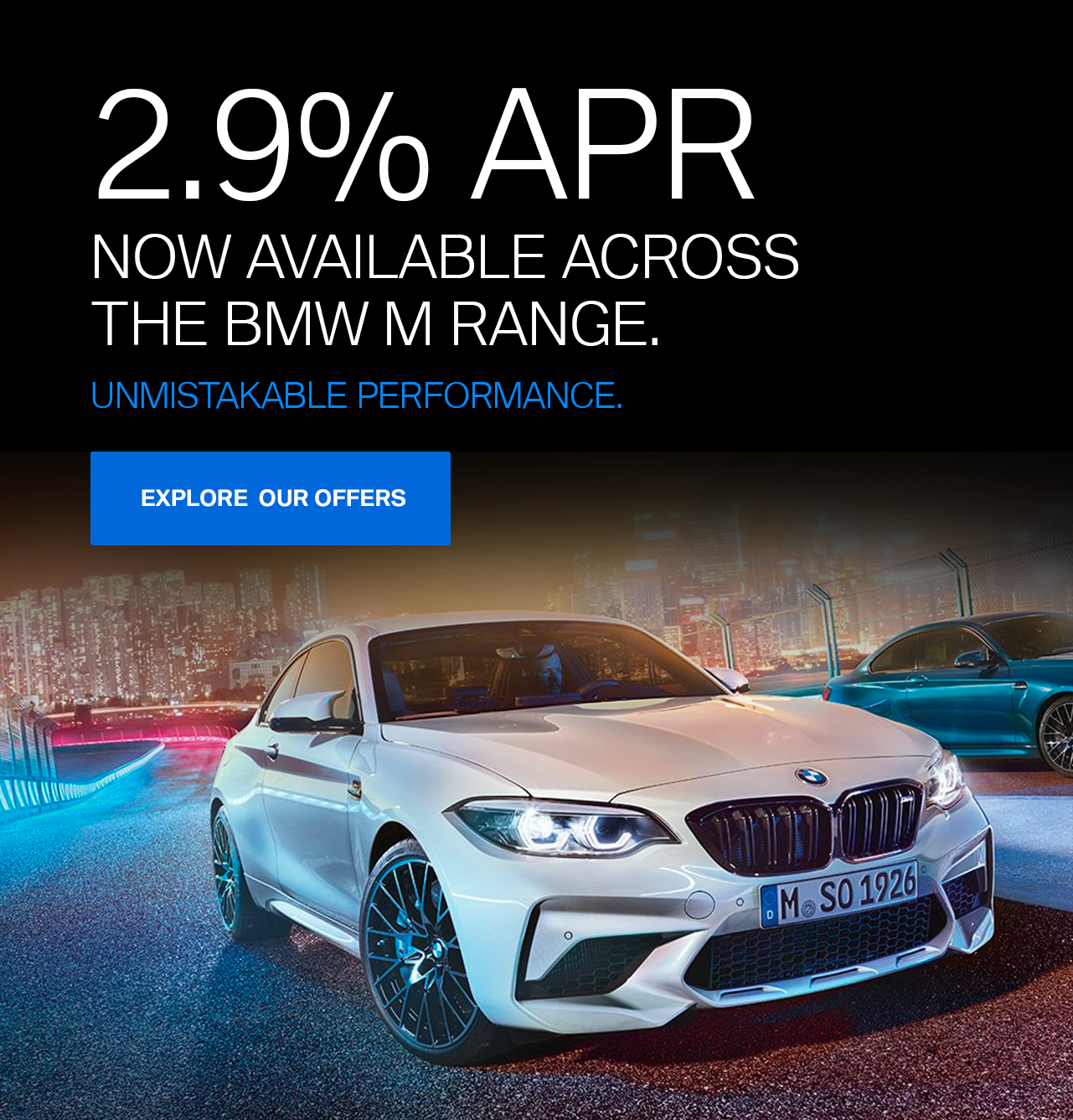 BMW M Range Offers