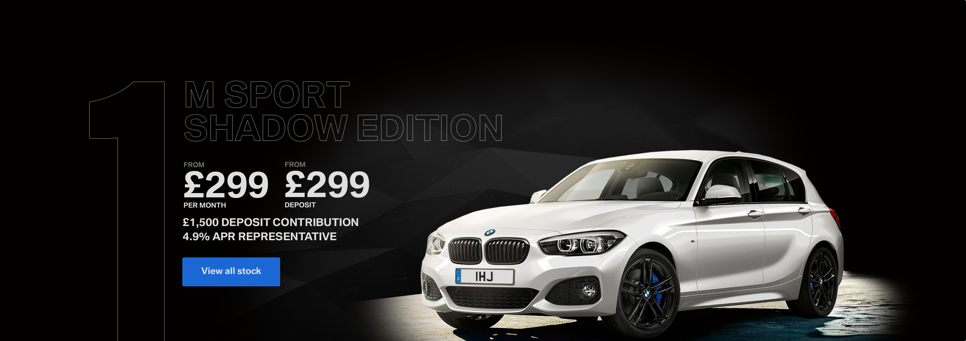 BMW 1 Series Shadown Edition Image 1
