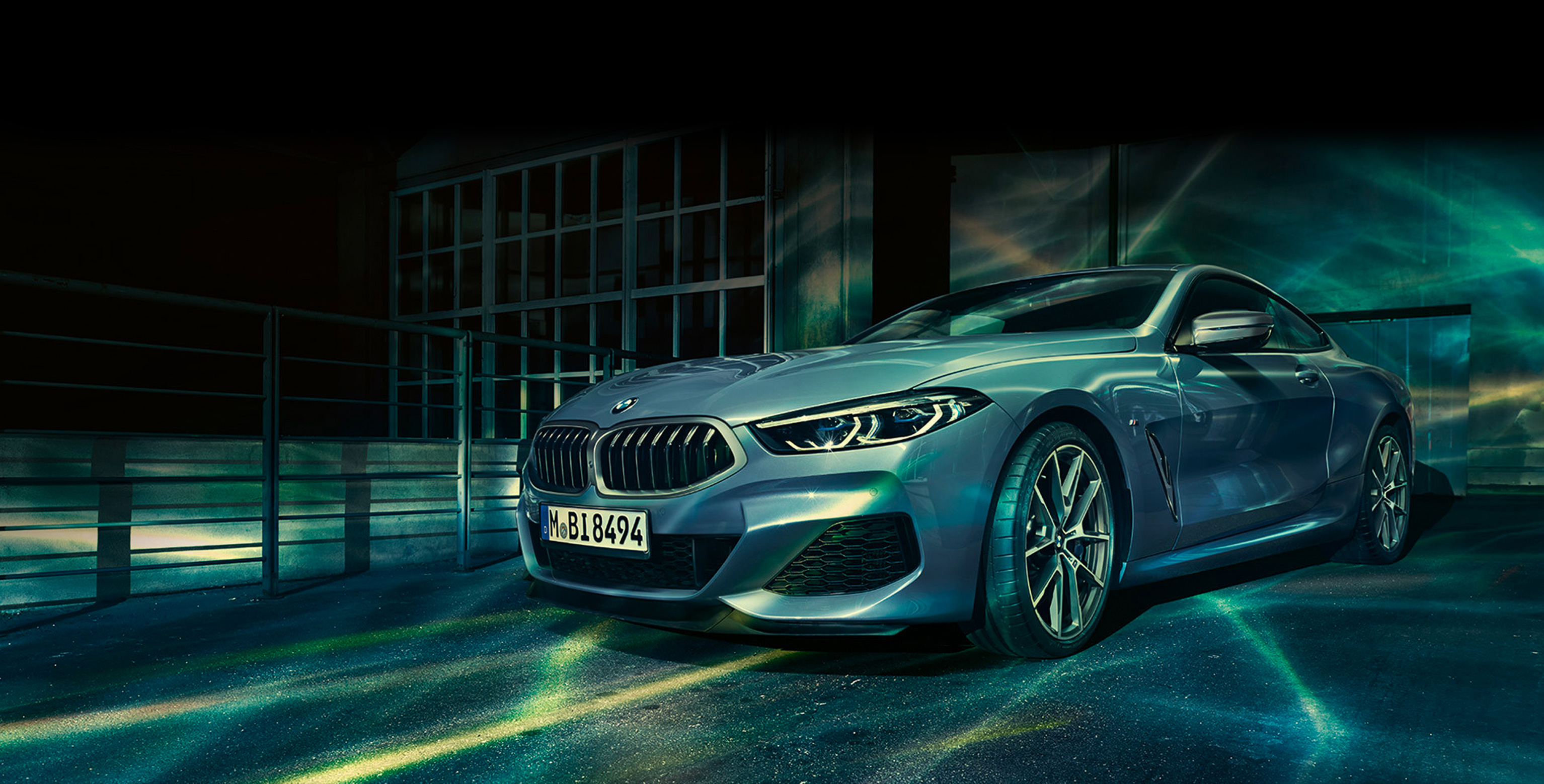 New BMW 8 Coupe