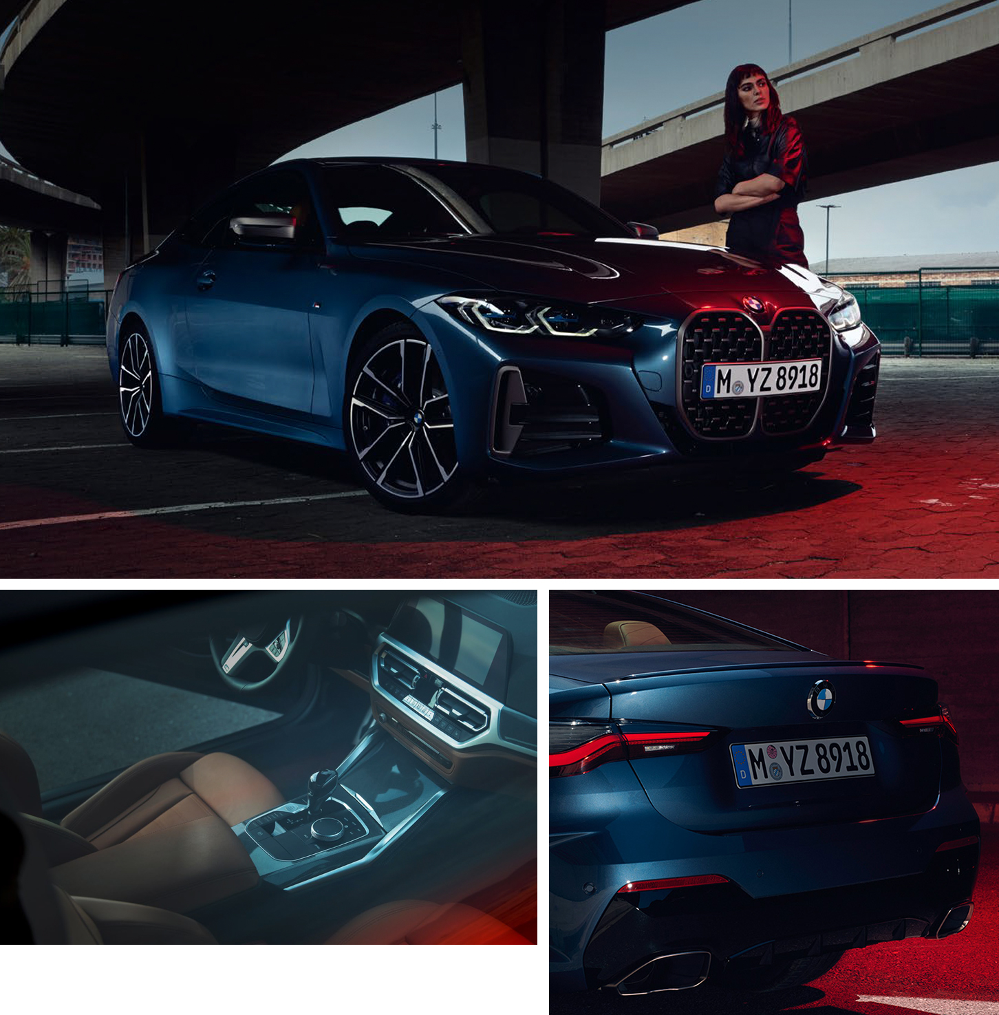 BMW 4 Series Collage