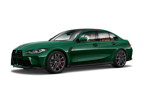 New BMW M3 Competition Saloon