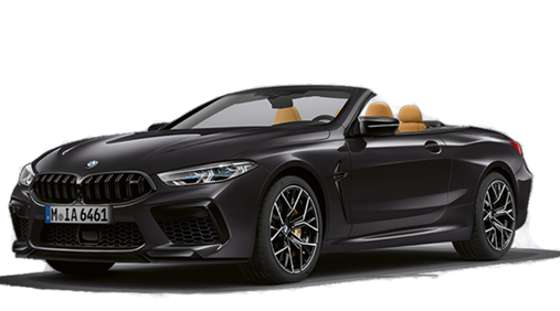 New BMW 8 M8 Competition Convertible