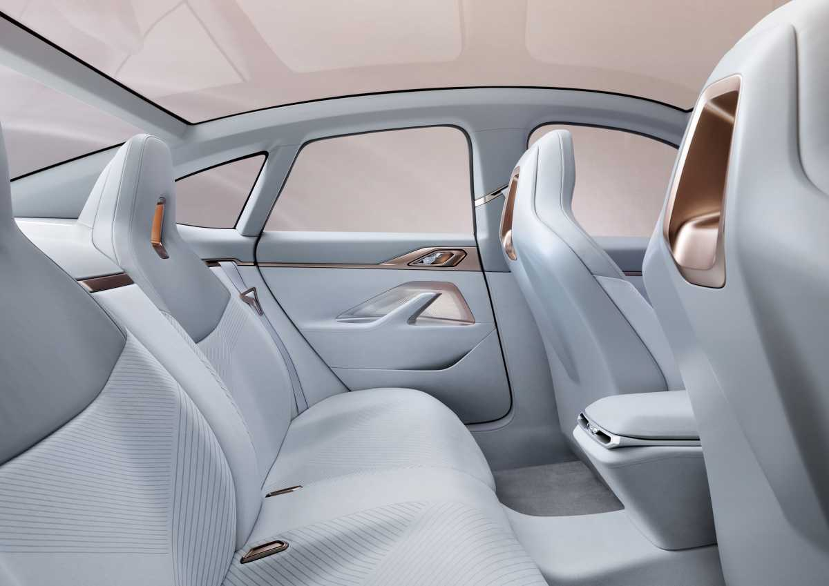 BMW i4 Concept Rear Cabin