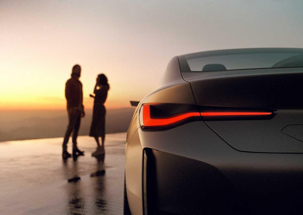 BMW i4 Concept Rear Light