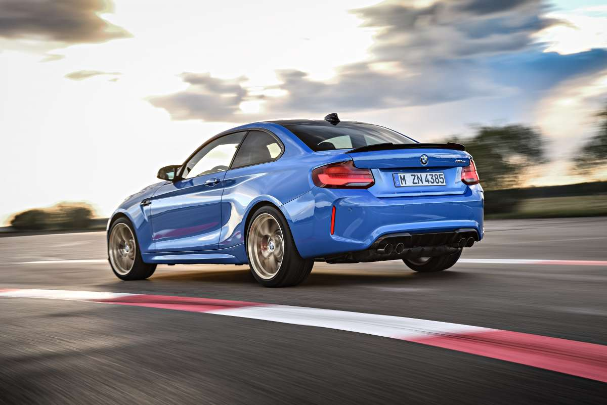M2 CS On Track Rear 2
