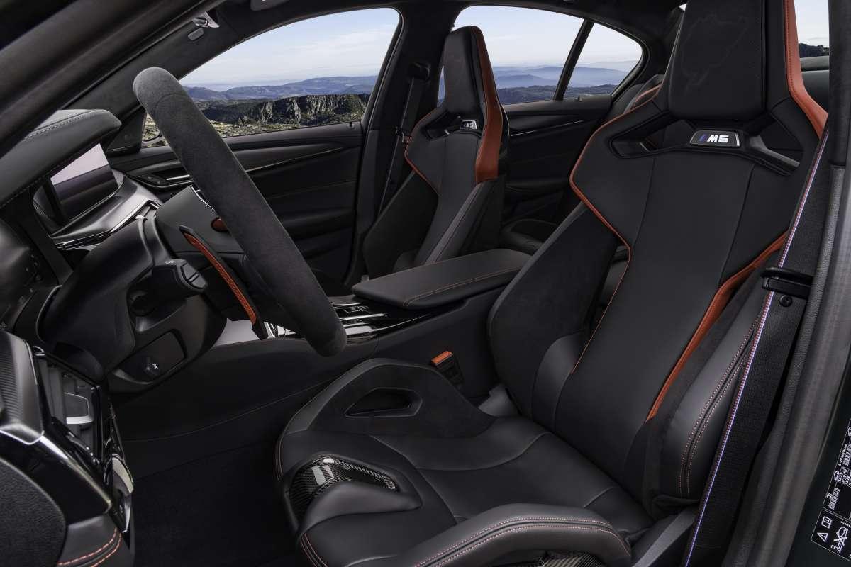 M5 CS Carbon Drivers Seat