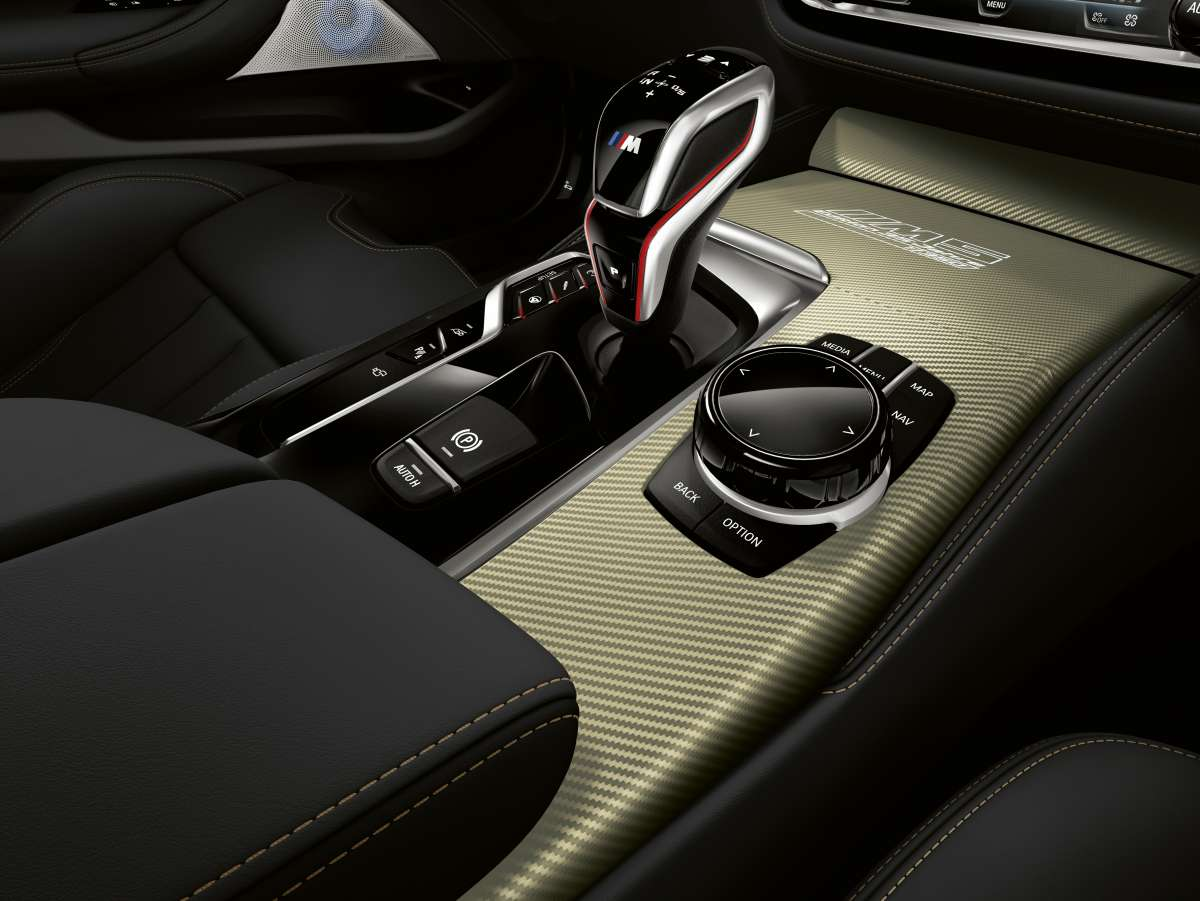 The BMW M5 Edition 35 Jahre Centre Console