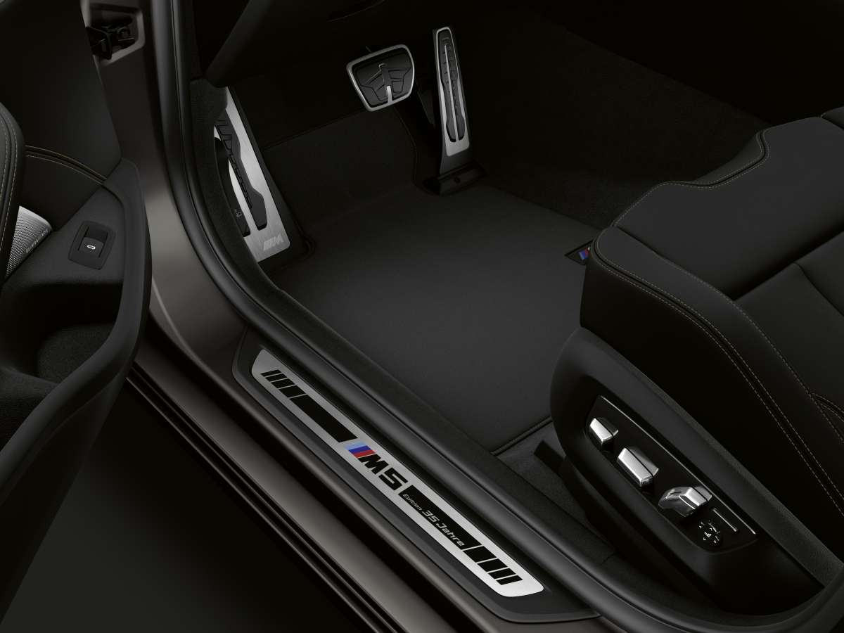 The BMW M5 Edition 35 Jahre Door Sill