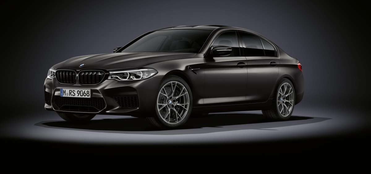 The BMW M5 Edition 35 Jahre Front Off