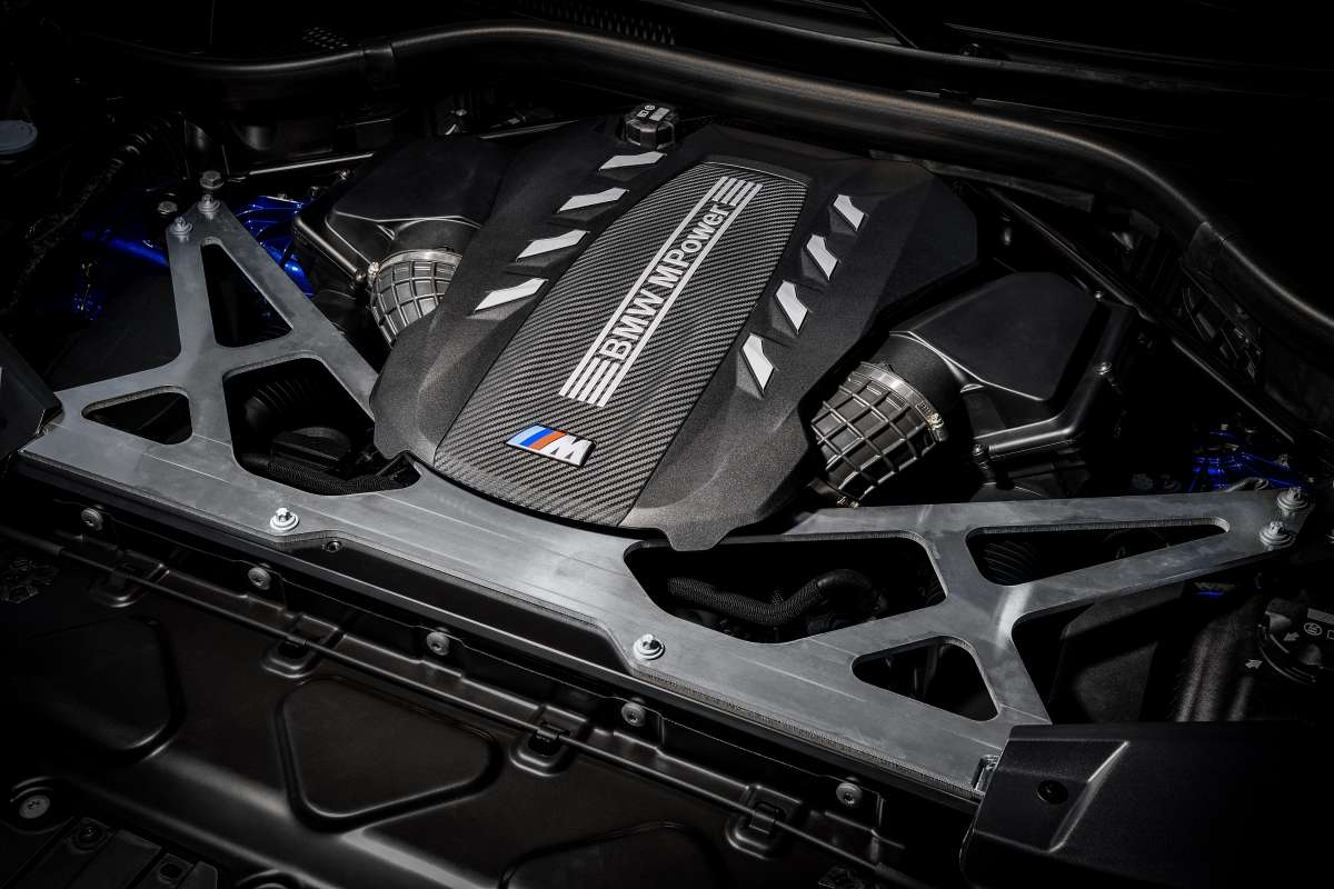 X5 X6 M Competition Engine Bay