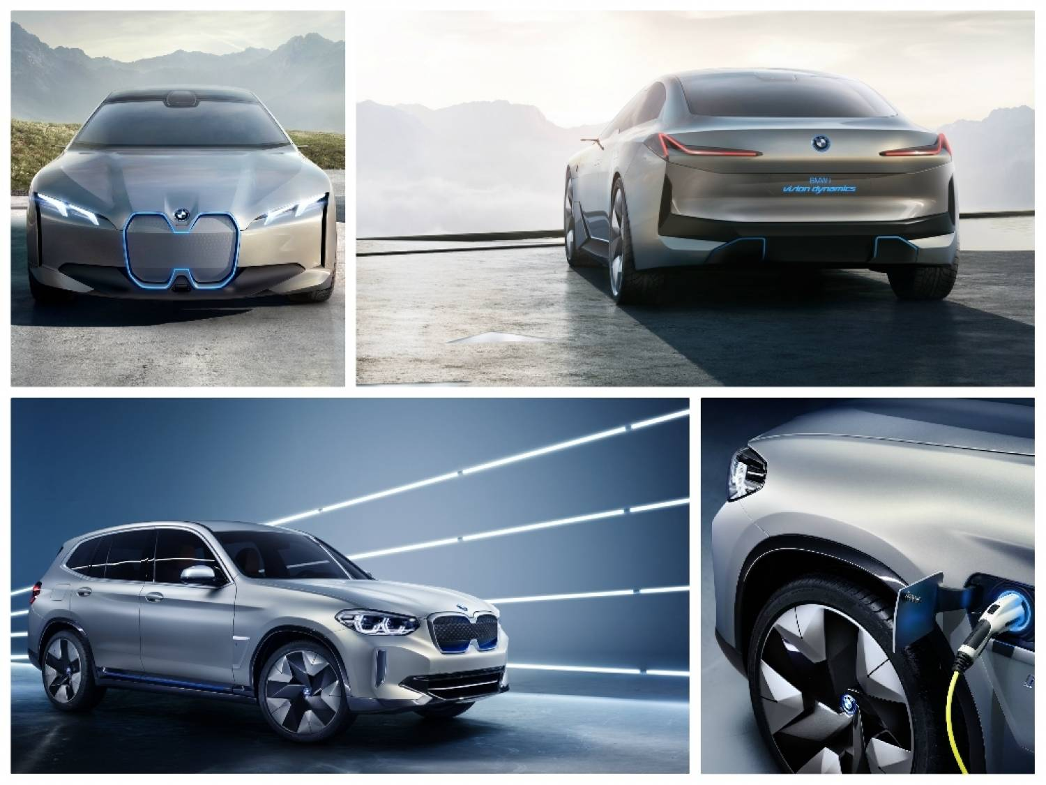 BMW i4 and i X3 Concept Images