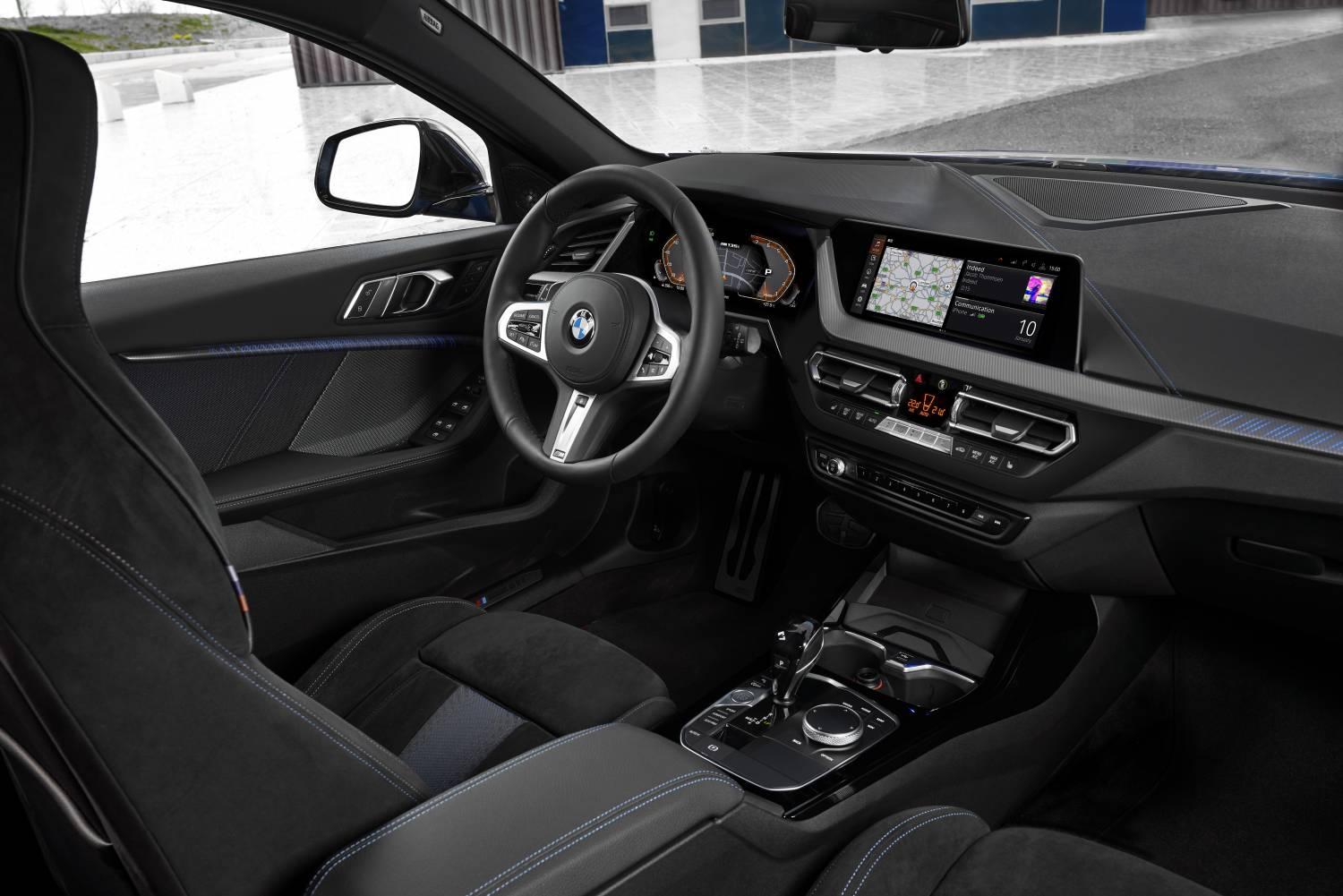 The 1 M135i Interior Dashboard