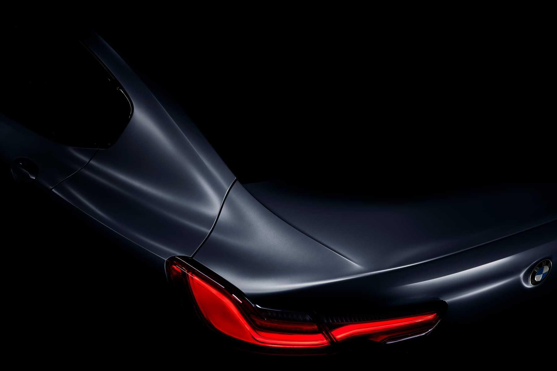 8 series Gran Coup Teaser rear profile 3543x2362