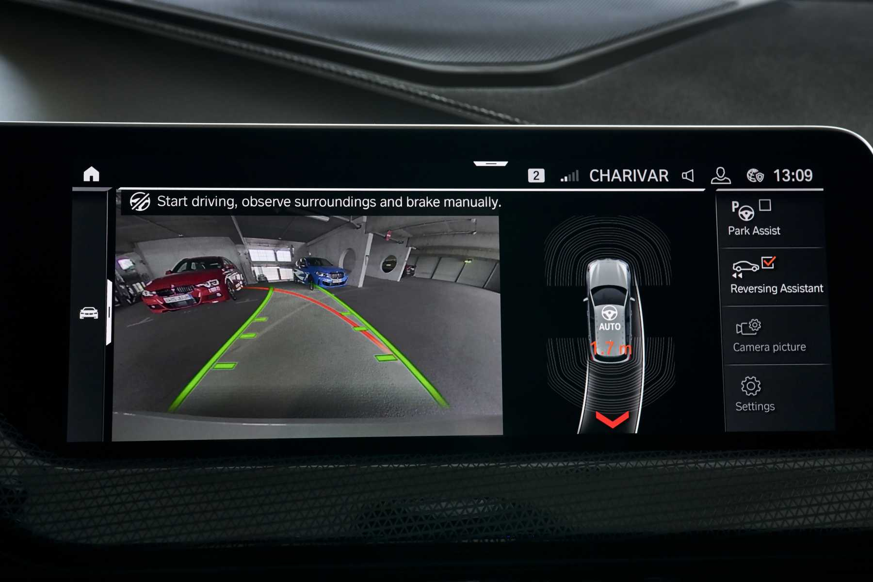 BMW 1 Series Parking Assistant