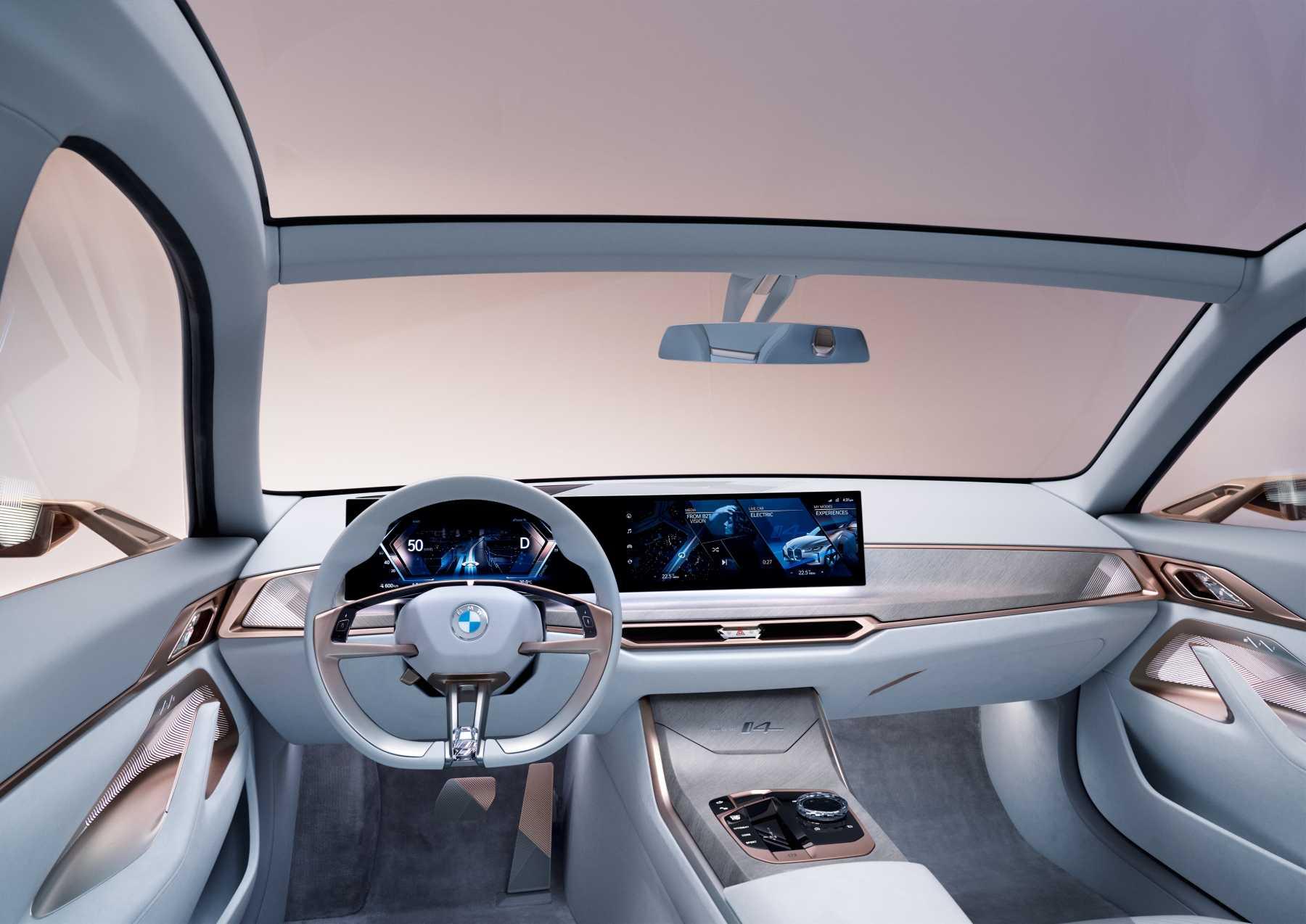 BMW i4 Concept Dashboard