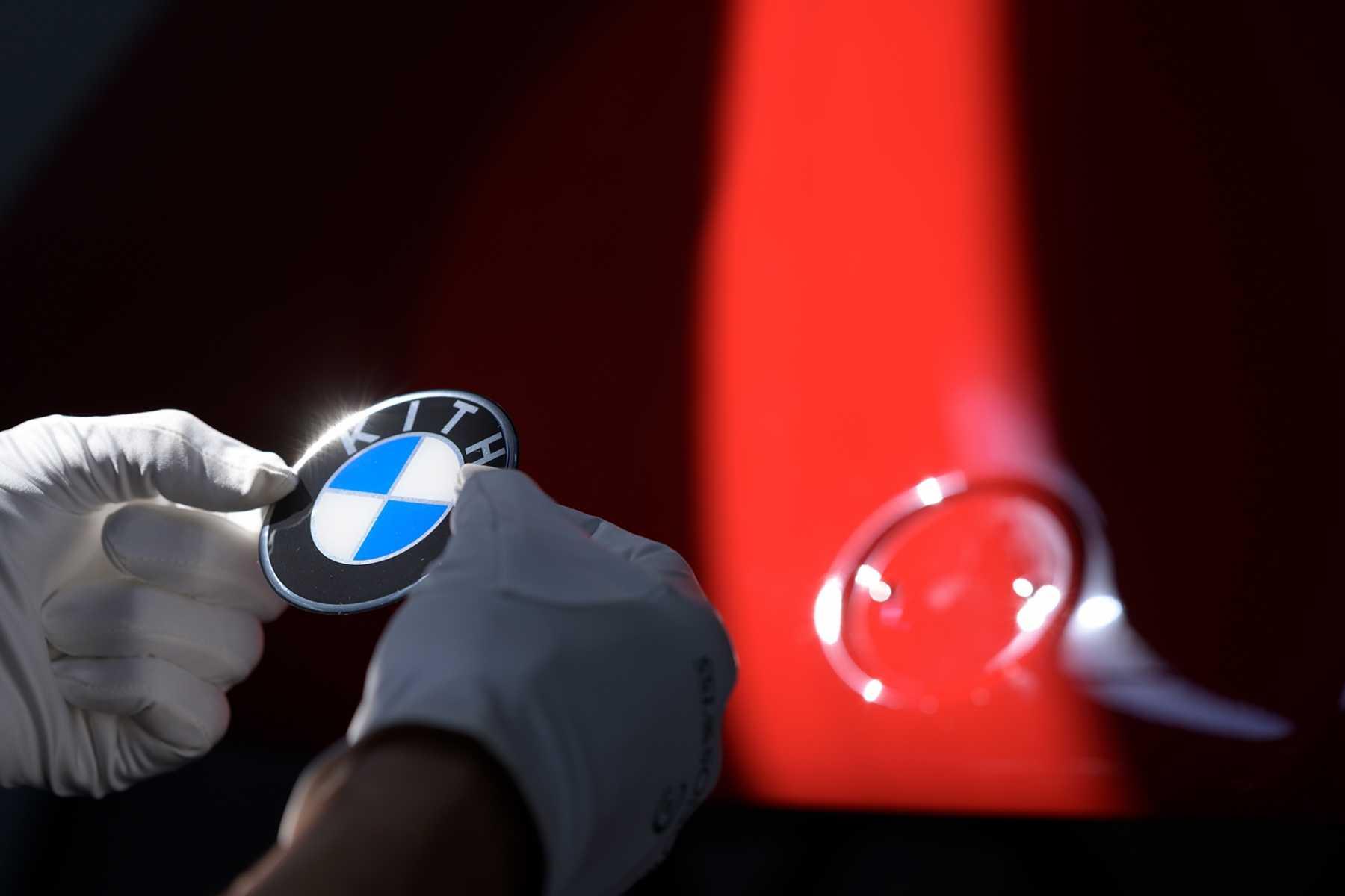 BMW x KITH restoration bmw e30