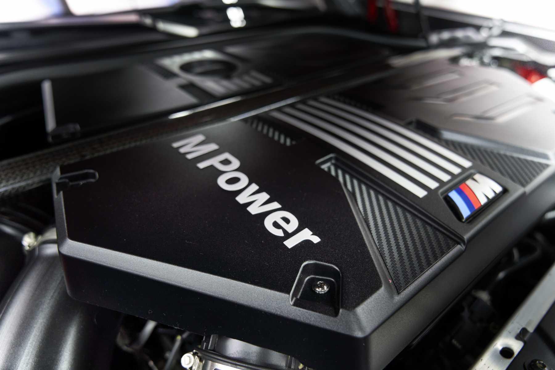 X3 M Engine Bay