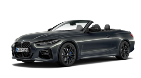 New BMW 4 Series Convertible M Sport Pro Edition model