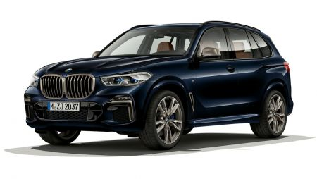 New BMW X5 The BMW X5 M50d
