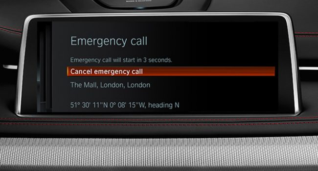 Automatic BMW Teleservice Call