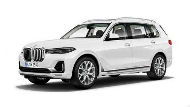 New BMW Luxury Class