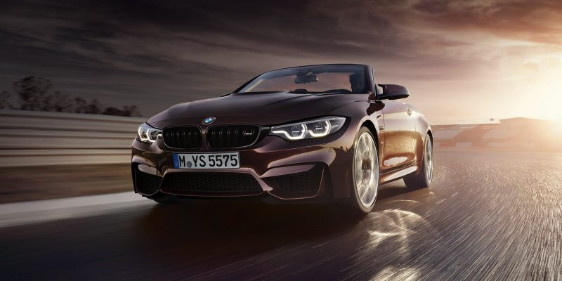 New BMW M4 Convertible