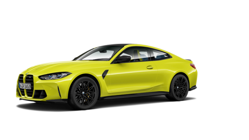 The New BMW M4 Competition Coupé