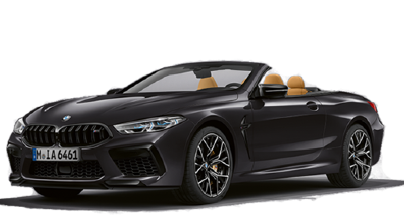The New BMW M8 Competition Convertible