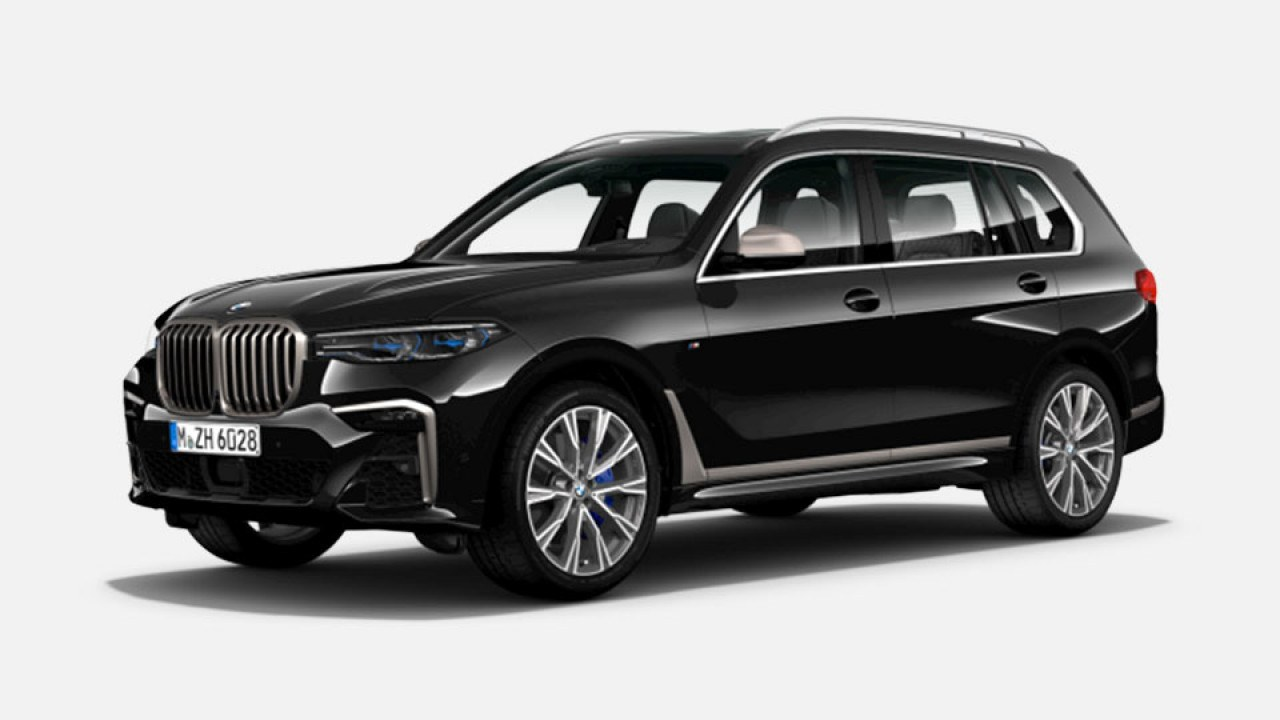 PREMIUM PERFORMANCE MODEL. BMW X7 M50d