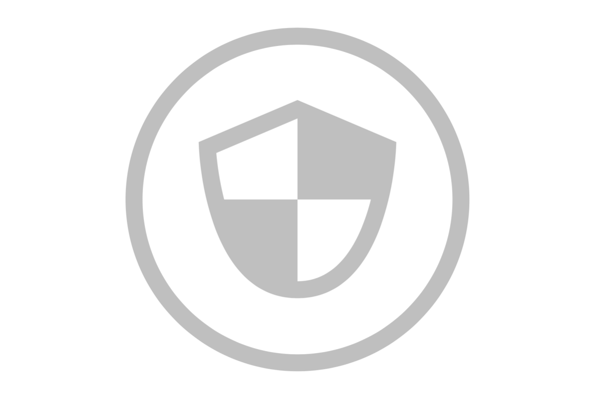 Shield icon web