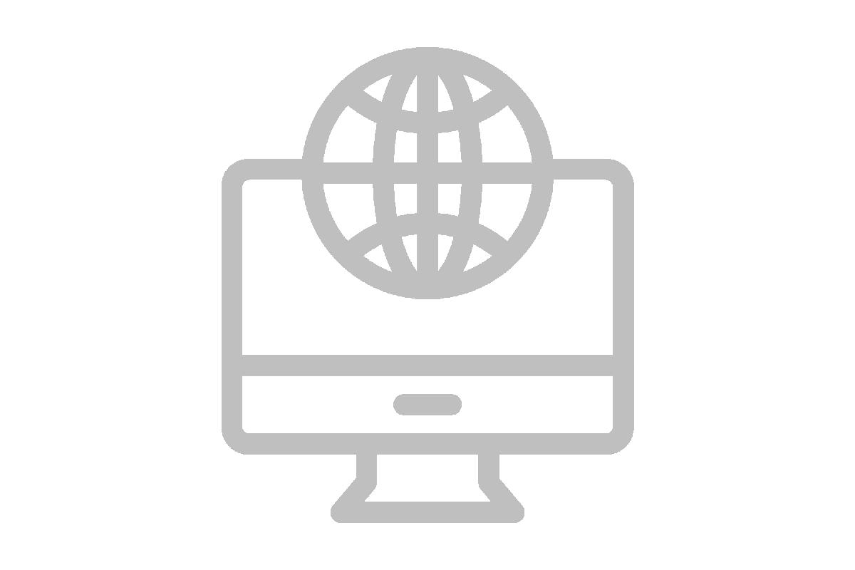 Online icon web