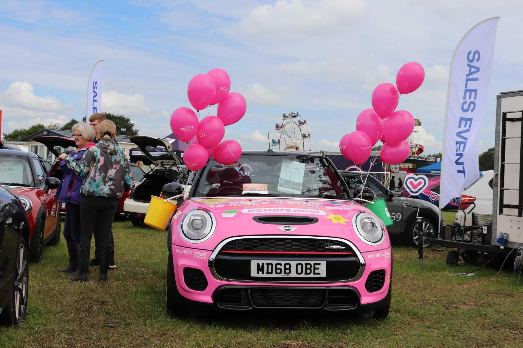 Chehsire Show 2019 pink MINI