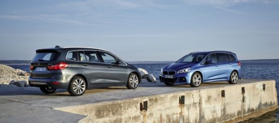 Let the whole family travel in style with the BMW 2 Series Gran Tourer