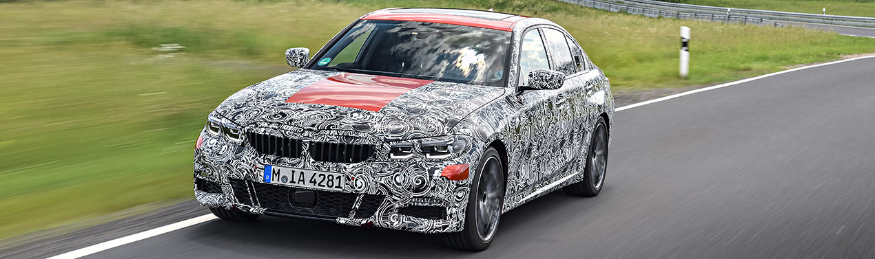 THE ALL-NEW BMW 3 SERIES SALOON.
