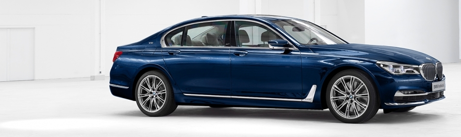 BMW 7 SERIES THE NEXT 100 YEARS CENTENARY EDITION