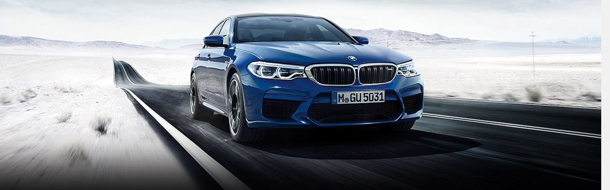 THE NEW BMW M5 WITH M xDRIVE. ARRIVES FEBRUARY 2018.