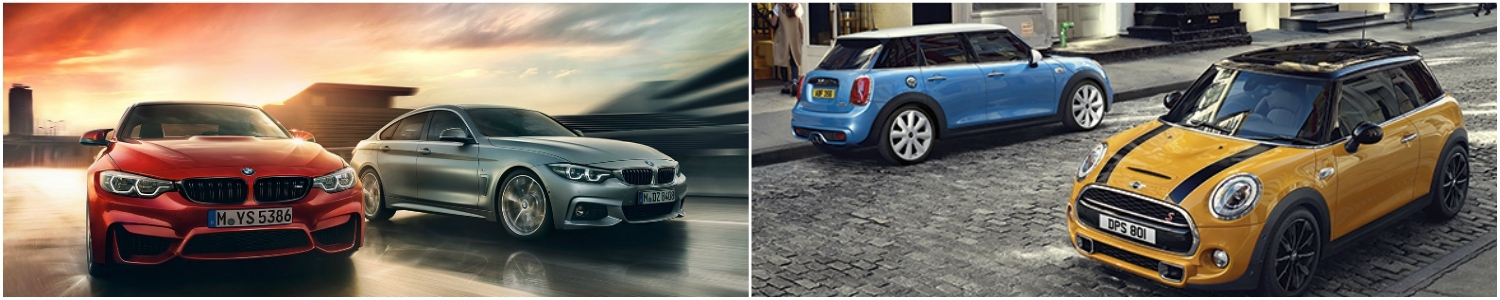 Bmw Mini Collage