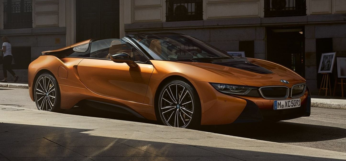 The new BMW i8 Roadster, the new BMW i8 Coupe.