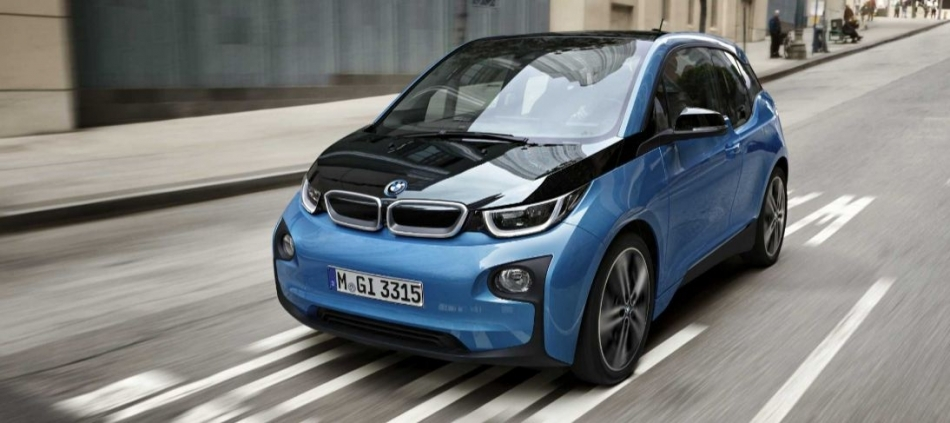 BMW i3. Born to go further...