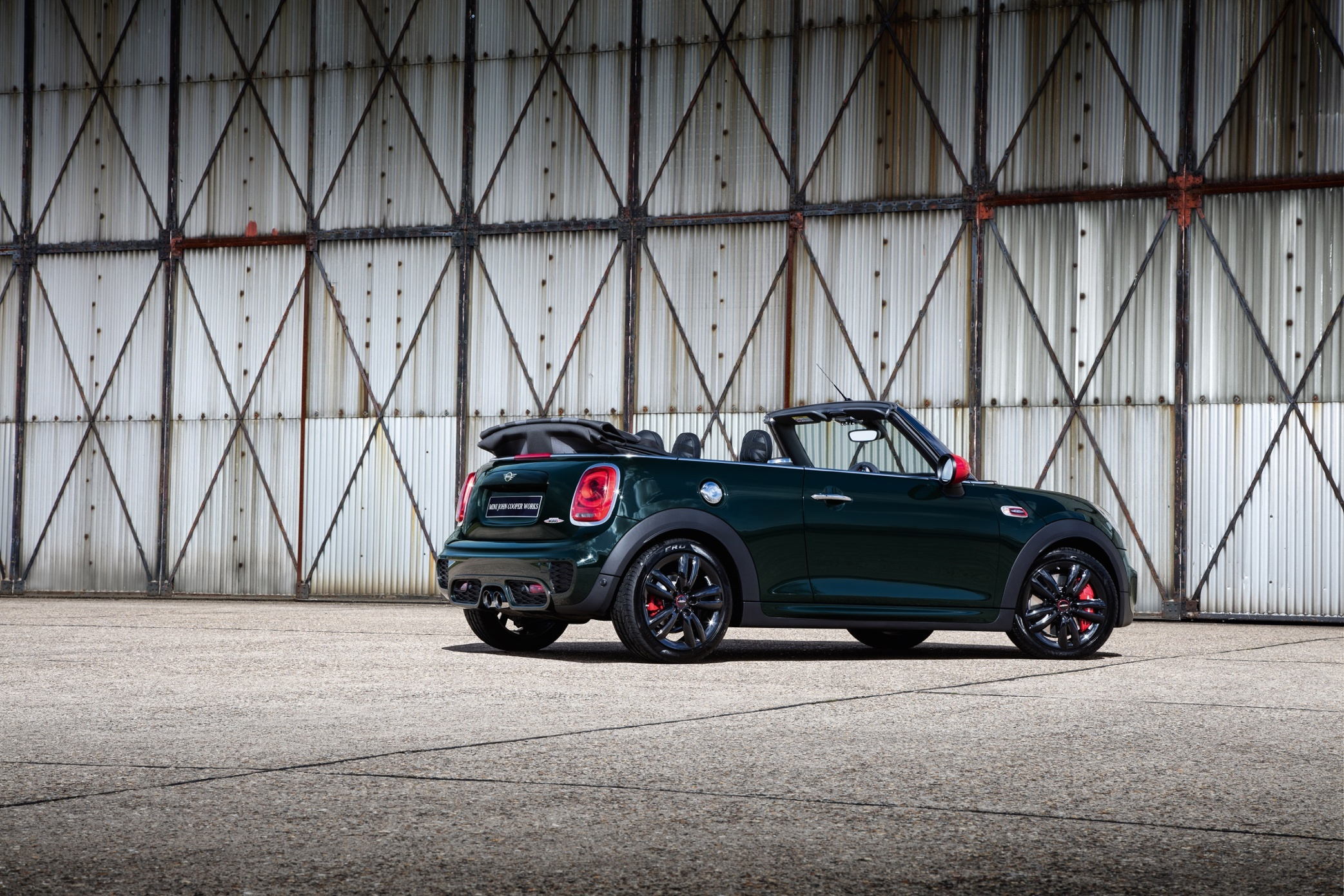 The latest MINI Convertible featuring the new 25th Anniversary edition