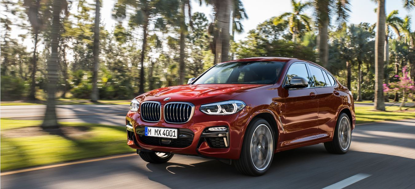 The all-new BMW X4 is coming.