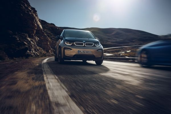 The all-electric BMW I3 120Ah.