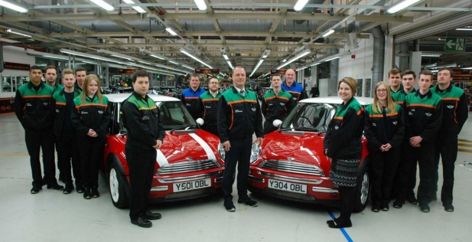 Plant Oxford Celebrates 15 years of MINI Production