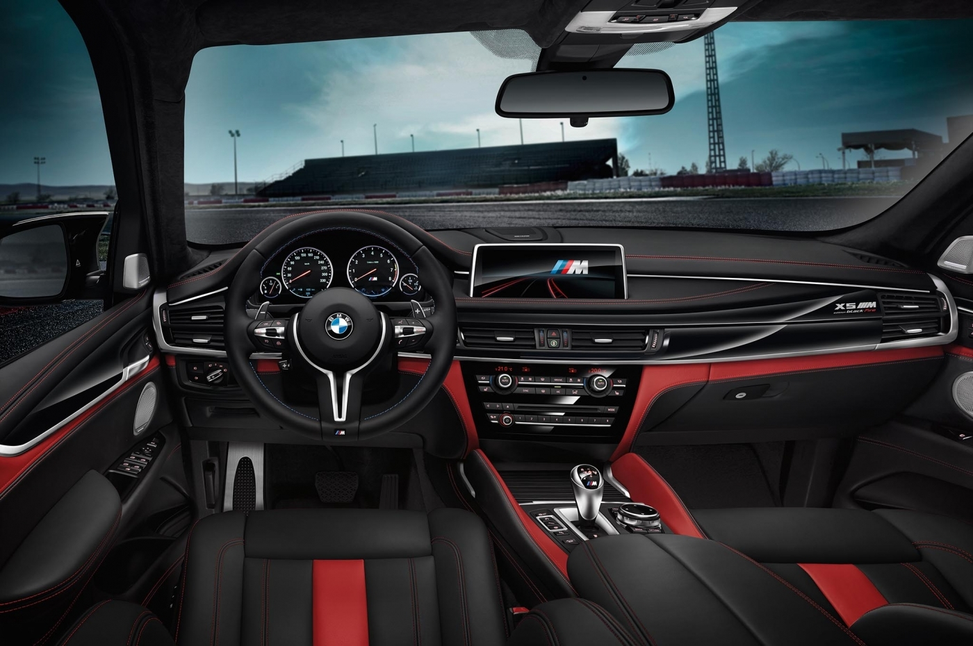 The Black Fire Edition Of The Bmw X5 M And Bmw X6 Interiors 1400 930 S C1