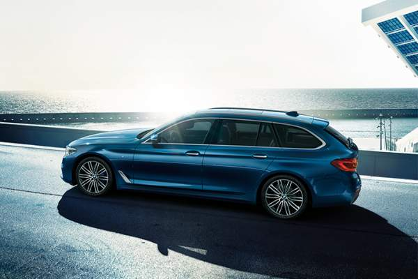 New Bmw 5 Series Touring Profile 1