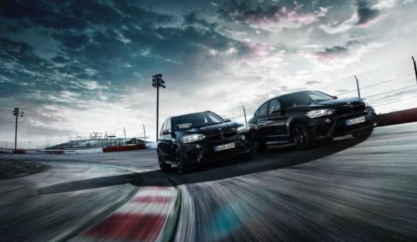 The Black Fire Edition of the BMW X5 M and BMW X6 M.