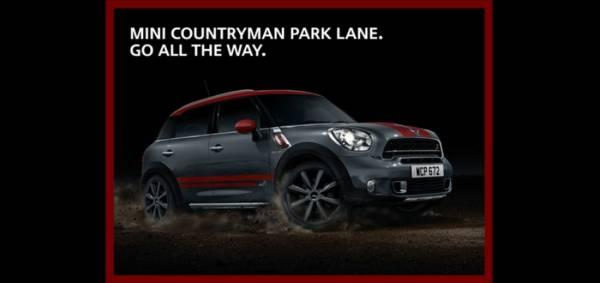 The new MINI Countryman Park Lane