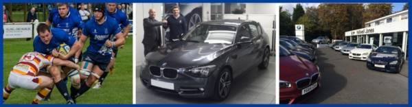 Blues star converts to Halliwell Jones BMW