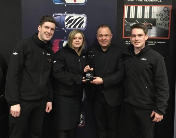 Halliwell Jones MINI North Wales wins MINI Oscar!