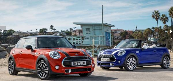 The New MINI Hatch and MINI Convertible 2018